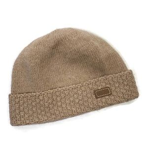 Coach Wool Cashmere Blend Knit Hat